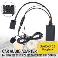 Audio Auto bluetooth Cavo Aux Ricevitore +Mic Per BMW E83 85 86 Mini Cooper