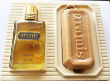 Vintage ARAMIS 2 fl oz Cologne Soap on a Rope Gift Set New Box BEST MAN SCENT