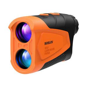BOBLOV Slope Golf Rangefinder Hunting Rangefinder Speed, 6X Magnification System