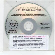 (GD860) Quiet Marauder, Men - 2014 DJ CD