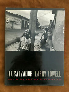 LARRY TOWELL - EL SALVADOR - 1st EDITION Hard Cover - SCARCE