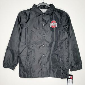 Gen2 Sports Youth Small 8 Ohio State Buckeyes Coaches Windbreaker Jacket