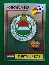 ESPANA 82 n 182 UNGHERIA SCUDETTO BADGE , Figurina Sticker Calciatori Panini NEW