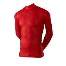 Puma Power PB Core Long Sleeve Mens Base Layer Gym Training Top Red 511607 01 XL