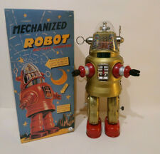 Robbie Mechanized Robot 34 Cm Etat Neuf + Boite OTTI Japon 1990