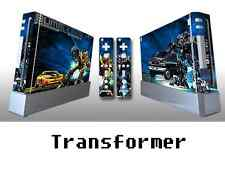 Skin Sticker Cover For Nintendo Wii Console and 2 Remotes Transformer 028