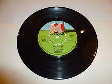 "DAN MCCAFFERTY - Out Of Time - 1975 UK 4-prong centre label 7"" vinyl single"