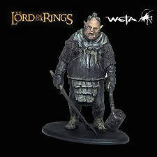 SIDESHOW WETA ORC BRUTE - LORD OF THE RINGS - POLYSTONE STATUE RARO RARE NEW