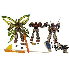 Battle Scarred Gundam Lot Of 3 Dragon Maxter GP-01 Fb MSIA Bandai 2003 #11422
