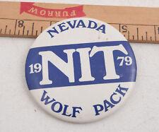 University of Nevada Reno Wolfpack 1979 Button Pinback (C2L-17)