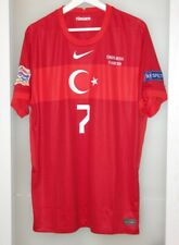 Match worn prepared shirt Turkey national team Russia Nations league Roma Italy
