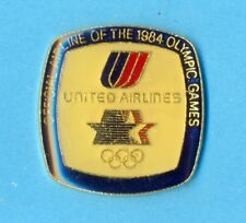 UNITED Airlines Olympic Games 1984 Badge