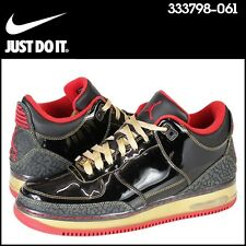 Jordan AJF 3 Fusion Black/Gold/Red [333798-061] Mens Size 10 DS