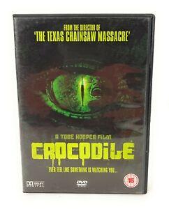 Crocodile (DVD, 2000) RARE Adam Gierasch The Director of Texas Chainsaw Massacre
