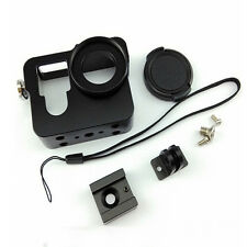 Metal Frame Border Mount Accessories Kit Camera Housing Case for GoPro Hero4/3+