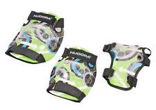 Hudora Protektorenset Green Style, Gr. M   Kinder Schoner   Skate Protektoren