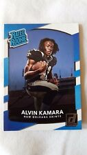 2017 Donruss Alvin Kamara New Orleans Saints Rookie # 349 Rookie of Year
