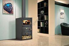 Wood Burning Stove Fireplace 10 kW Fireplace Log Burner Woodburning Prity K22