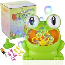 CPSYUB Bubble Maker Machine | Premium Non-Toxic ABS & Automatic Durable Frog