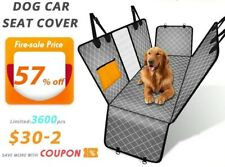 Waterproof Pet Dog Car Rear Back Seat Cover Suv Van Protector Hammock Mat