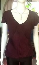 Mulberry Business/Party Top By Marks And Spencer Size 12
