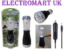 WIND Up ricaricabile Super Bright 5 LED Lanterna Torcia luce lavoro campeggio