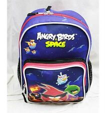 "NWT Angry Birds Space 10"" Mini Backpack School Bag Toddlers by Rovio- Red"