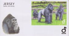 Unaddressed Jersey First Day Cover FDC 2012 Jambo the Gorilla Sheet 10% off 5