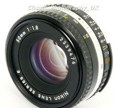 NIKON Lens Series E 50mm 1:1.8 Nikon Ai-S SHARP Prime Lens FILM & Digital SLR ft