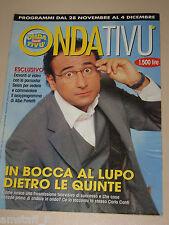 ONDA TIVU=1999/48=CARLO CONTI=IRENE GRANDI=SELEN=DON MAZZI=ARNOLD SCHWARZENEGGER