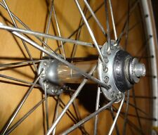 Campagnolo Record Naben mit Zac 19 Reiserad Felgen 28 Zoll Laufrad Vorderrad