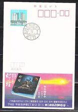 Japan 1982 mint unposted postal card JP014