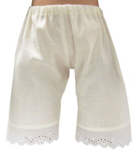 """Made in USA Cream Pantaloons for 18"""" American Girl Doll Clothes Kirsten Rebecca"""