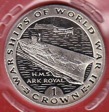 Gibraltar 1 Crown 1993 Kriegsschiff H.M.S. ARK ROYAL