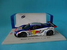 MCLAREN MP4 12C #17 RED BULL LOEB  GT TOUR PAUL RICARD 2012 1/43 NEW SPARK SF067