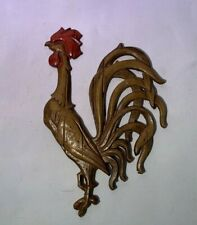 Vintage Sexton Rooster Wall Plaque