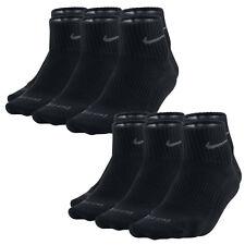6 Paar NIKE Dri-FIT NoShow Sneaker Socken schwarz 46-50 (XL) 6er Pack Low Cut