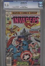 Invaders #15 April 1977 CGC 9.6 The Crusaders