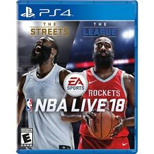 NBA LIVE 18 (PLAYSTATION 4) PS4 - BRAND NEW/SEALED - FREE SHIPPING!