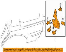 MITSUBISHI OEM 03-06 Outlander Exterior-Mud Flap Splash Guard Left MN133149
