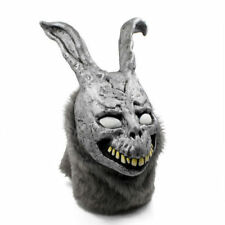 Donnie Darko FRANK Rabbit Mask Halloween Party the Bunny Latex with Fur Mask USA