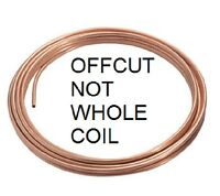 """NEW 3/16"""" (approx 5mm) microbore gas water copper plumbing pipe/tube,15cm min UK"""