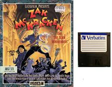 "ZAK MC KRACKEN : floppy disc 3,5"" Commodore Amiga backup game disk (READ BEFORE)"