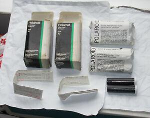 (2) Polaroid Polapan Black & White 200 Speed Type 42 Unopened Land Film Exp.1977