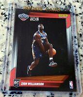 ZION WILLIAMSON 2019 SP #1 Draft Pick Rookie Card RC Logo /14091 Pelicans $$ HOT