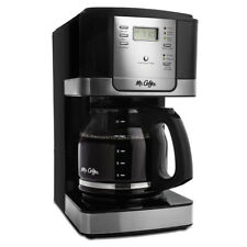Mr. Coffee Advanced Brew 12-Cup Programmable Coffee Maker Black/Stainless Steel