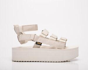 Teva Flatform Mevia Women's Jet Stream Casual Lifestyle Sandals Summer Footwear