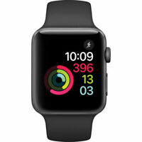 Apple Watch Series 2 42mm Smart Watch - Space Gray/Black (MP062LL/A)