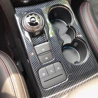 Carbon Optik Mittelkonsole Abdeckung Blende für Ford Kuga III MK3 ab 2019