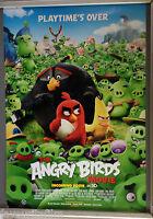 Cinema Poster: ANGRY BIRDS MOVIE 2016 (Main One Sheet) Danny McBride Sean Penn